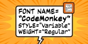 Code Monkey Variable font download