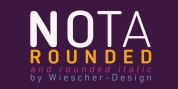 Nota-Rounded font download