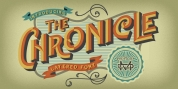 The Chronicle - Layered Typeface font download
