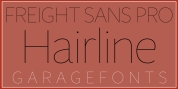 Freight Sans H Pro Hairlines font download