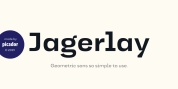 Jagerlay font download