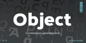 Object font download