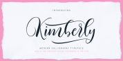 Kimberly Script font download