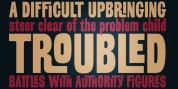Troubled PB font download