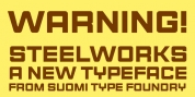 Steelworks font download