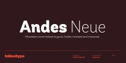 Andes Neue font download