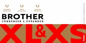 Brother XL&XS font download