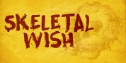 Skeletal Wish font download