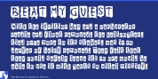 Beat My Guest font download