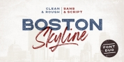 Boston Skyline font download