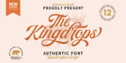 The Kingdrops font download