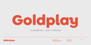 Goldplay font download