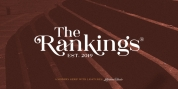 The Rankings font download