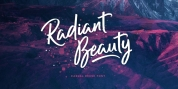 Radiant Beauty font download