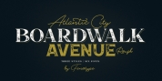 Boardwalk Avenue Rough font download