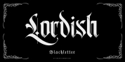 Lordish font download
