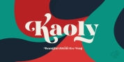 Kaoly font download