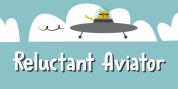 Reluctant Aviator font download