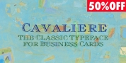 Cavaliere font download