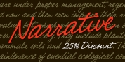Narrative BF font download