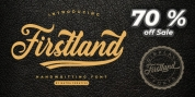 Firstland font download