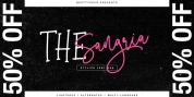 The Sangria font download