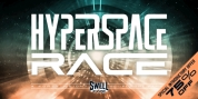 Hyperspace Race font download