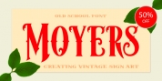 Moyers font download