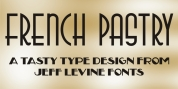 French Pastry JNL font download
