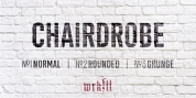 Chairdrobe font download
