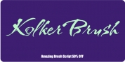 Kolker Brush font download