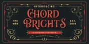 Chord Brights font download