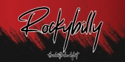 Rockybilly font download
