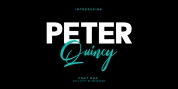 Peter Quincy font download