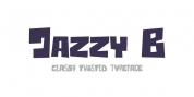 Jazzy B font download