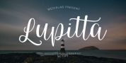 Lupitta font download
