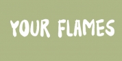 Your Flames font download