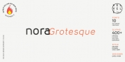 Nora Grotesque font download