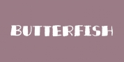 Butterfish font download
