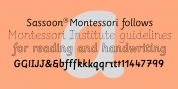 Sassoon Montessori font download