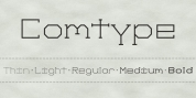 Comtype font download