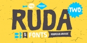 Ruda Two font download