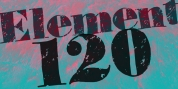 Element 120 font download