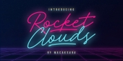 Rocket Clouds font download