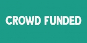 Crowd Funded font download