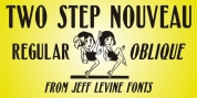 Two Step Nouveau JNL font download