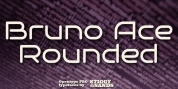 Bruno Ace Pro Rounded font download