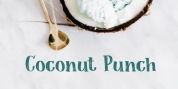 Coconut Punch font download
