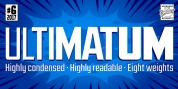 Ultimatum font download