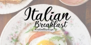 Italian Breakfast font download
